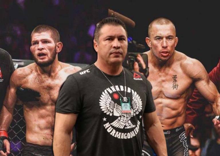 Javier Mendez commented on rumors of a fight with St-Pierre.