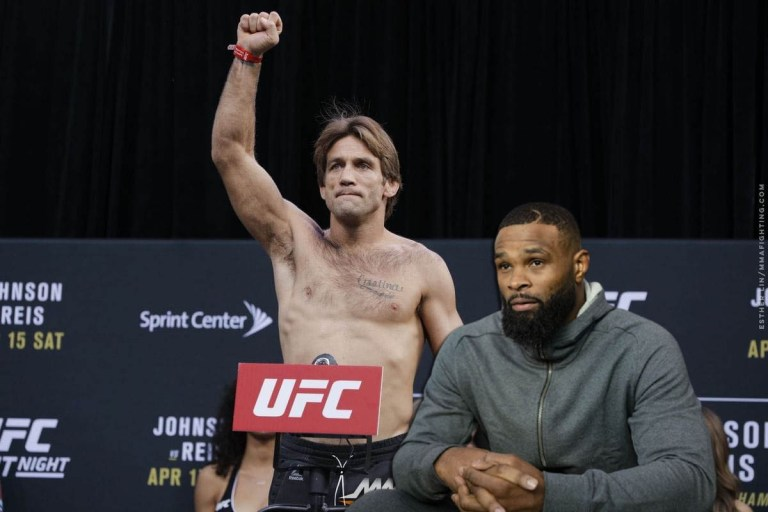 """Tyron Woodley names """"the hardest rival"""" he's ever confronted"""