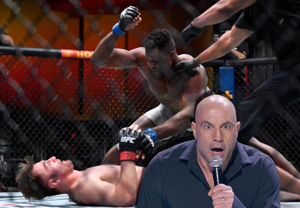 Joe Rogan suggested Stipe Miocic could retire after losing to Francis Ngannou