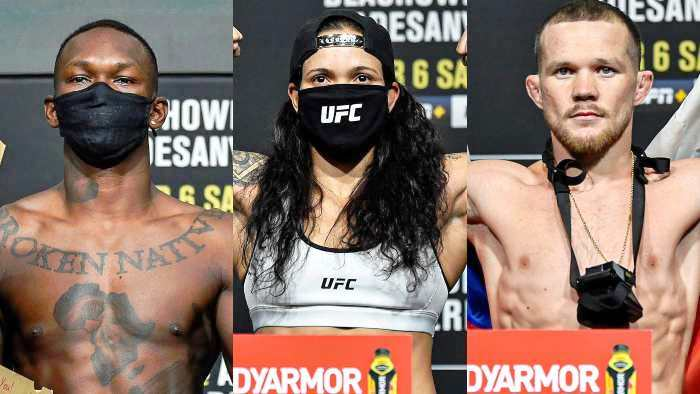 UFC 259 Weigh-in Results