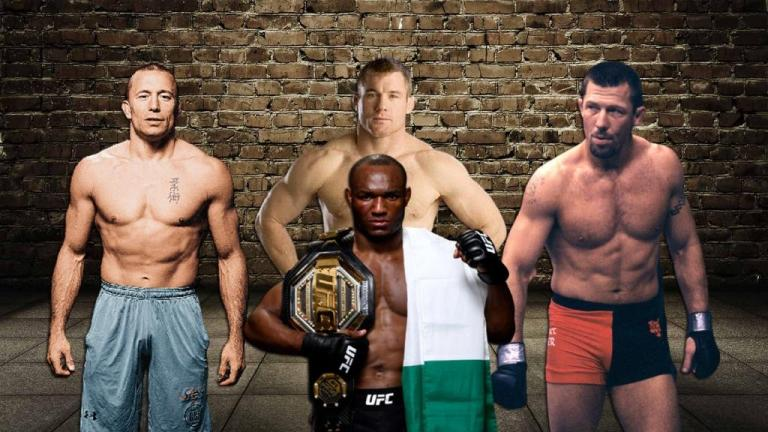 Kamaru Usman named four of the best welterweights in history