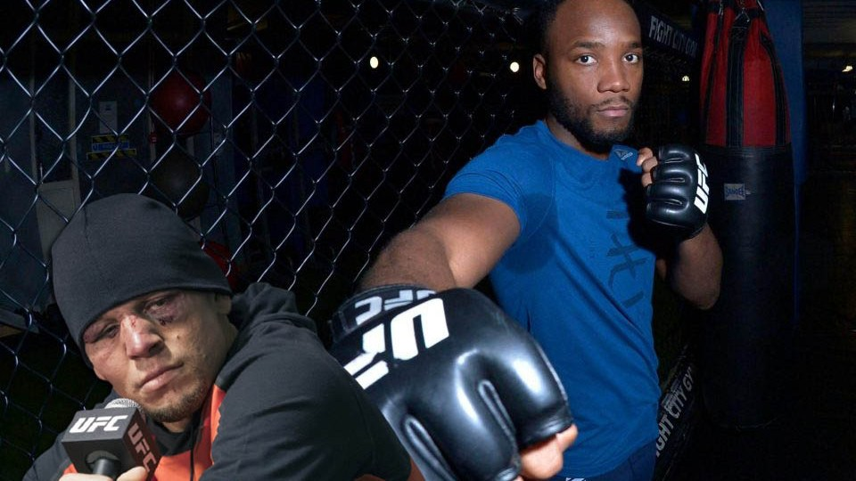 Leon Edwards about the five-round fight with Nate Diaz
