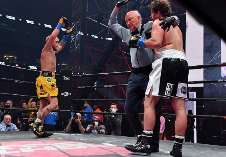 The fight between Jake Paul and Ben Askren entered the top ten PPV events in boxing history.