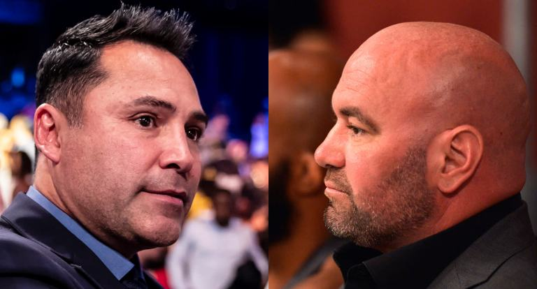 Georges St-Pierre vs. Oscar De La Hoya to veto or not to veto on the proposed  boxing match? Video
