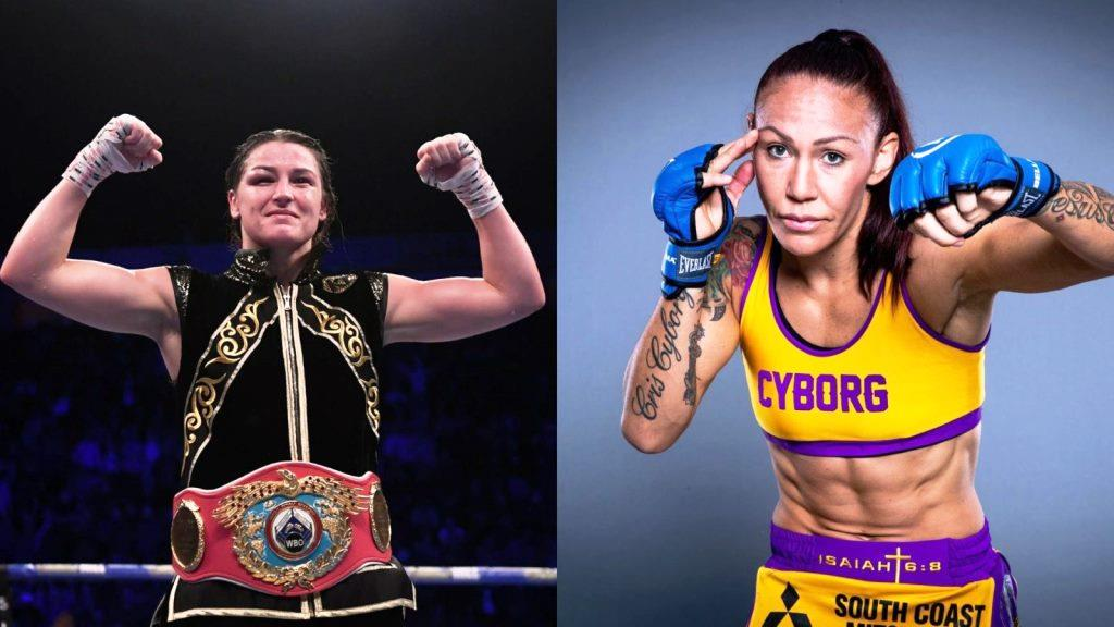 Cris Cyborg admits she is interested in a boxing match with Katie Taylor