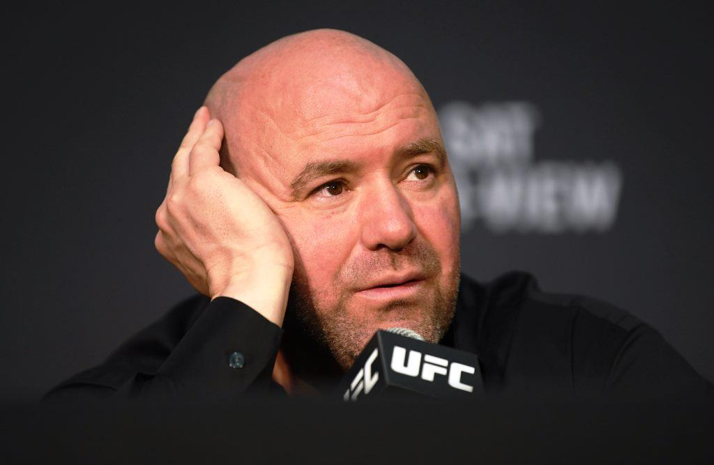 Dana White says she doesn't see the fire in Nick Diaz