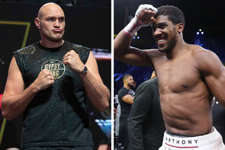 """Tyson Fury: """"If Joshua pounces on me, he will quickly fly away in a fucking knockout"""""""