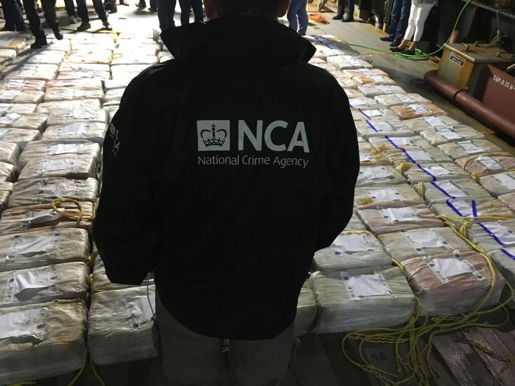 In the UK, a ton of cocaine worth 113 million dollars was thrown on the beach