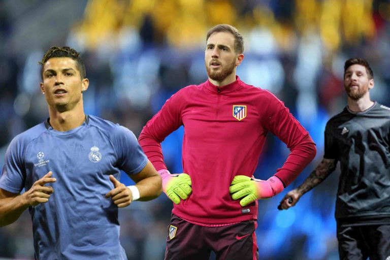 """Jan Oblak: """"Messi is the best. He and Ronaldo ushered in an era, what they have achieved is amazing. """""""