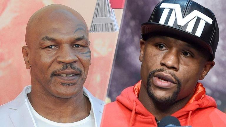 Mike Tyson believes 44-year-old Floyd Mayweather could still compete with the world's top fighters.