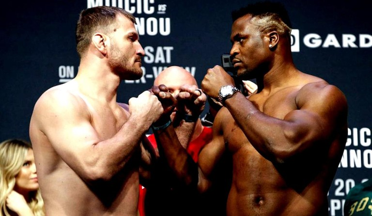 Stipe Miocic is hoping for Francis Ngannou trilogy by early 2022