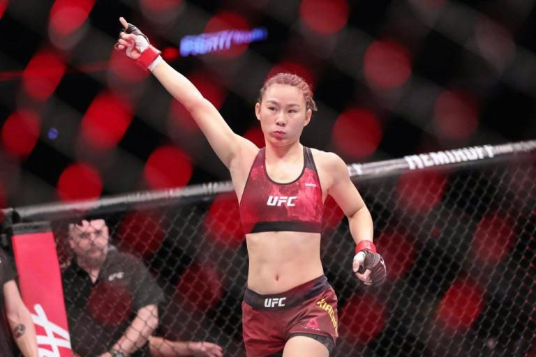 Yan Xiaonan is looking forward to his next title fight against Rose Namajunas with a win over Carla Esparza at UFC Vegas 27.