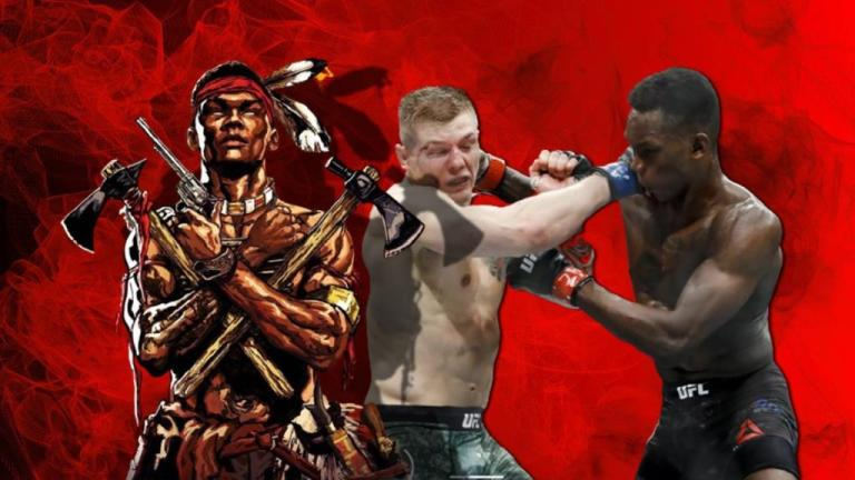 Israel Adesanya warned Marvin Vettori that he would knock him out