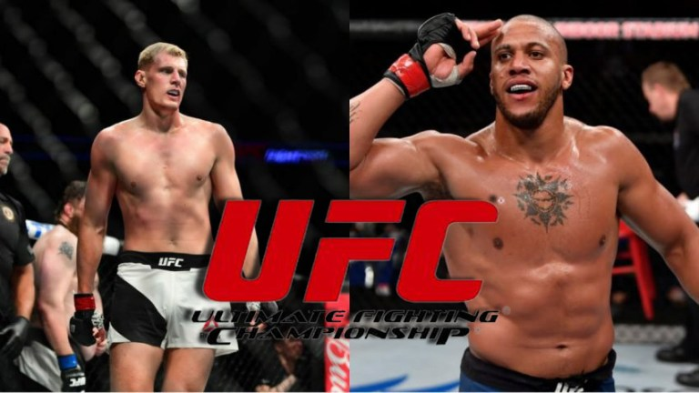 UFC Fight Night 190 official poster: Ciryl Gane and Alexander Volkov fight for title contention