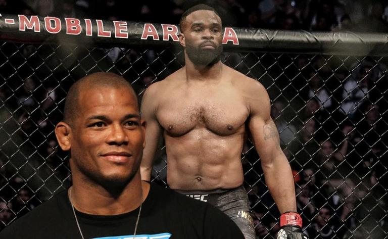 MMA News: Hector Lombard finally got  face-to-face with Tyron Woodley at BKFC 19.