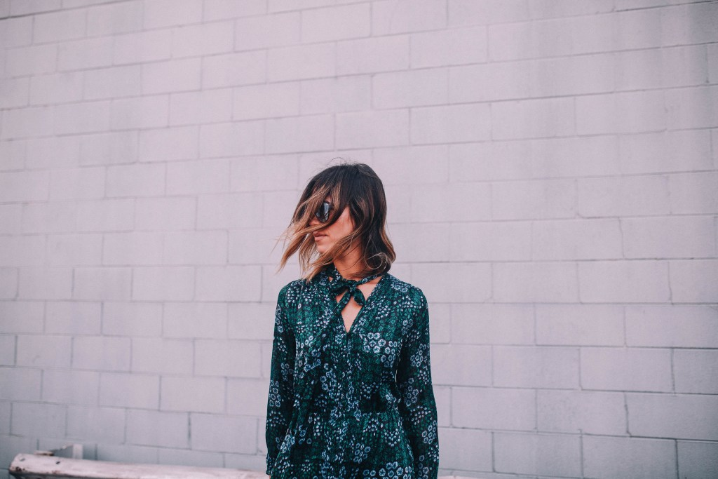 short hair ombre ideas and chicago fashion blogger