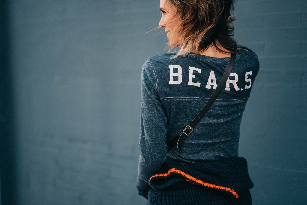 Chicago Bears and Chicago Fashion Blogger