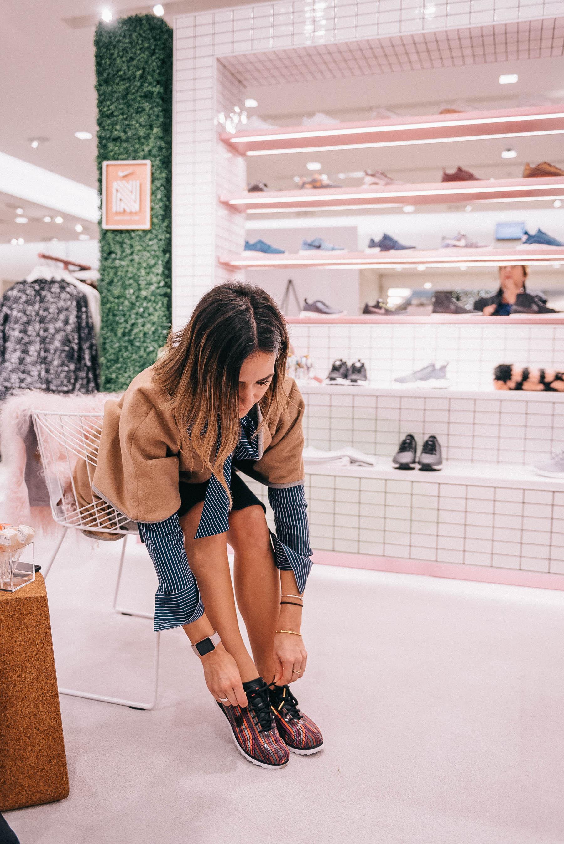 Nike Beautiful x Powerful Cortez and Chicago Fashion Blogger