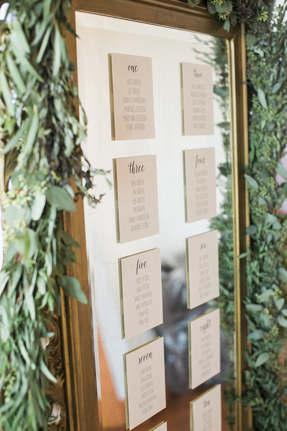 Wedding Guest Etiquette and Escort card ideas