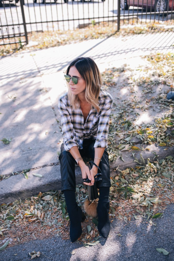 Blogger Mary Krosnjar styling game day fashion for National Tailgate Weekend