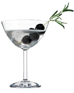Martha Stewart Olive Rosemary Martini