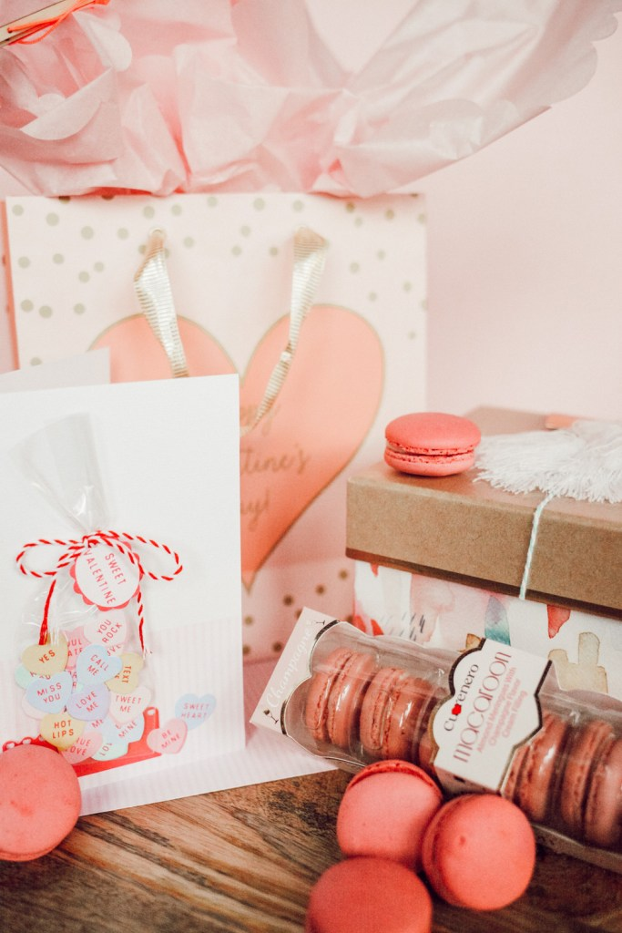 Blogger Mary Krosnjar sharing valentine's gift ideas