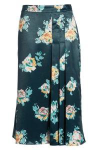 Halogen® Pleat Detail Midi Skirt