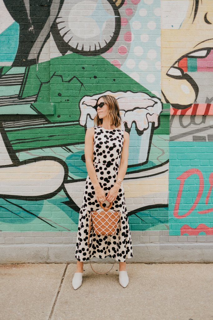 Blogger Mary Krosnjar wearing Who What Wear Collection for Target