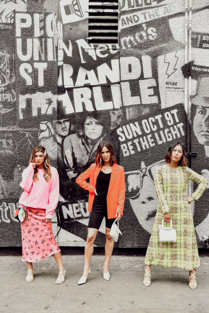 Seattle Fashion Bloggers styling neon colors for spring