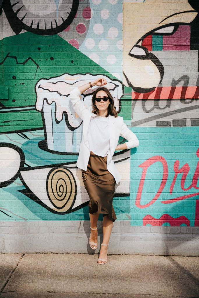 Fashion Blogger Sportsanista wearing Staples from the The Drop Collection on Amazon