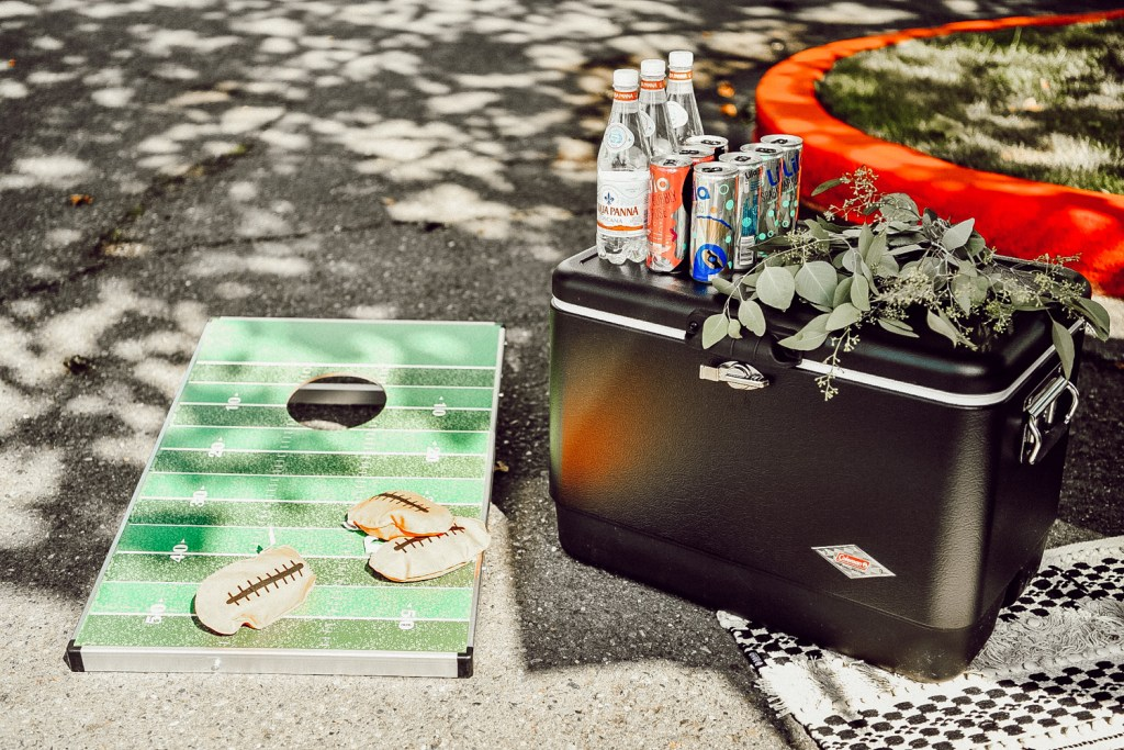Sportsanista sharing how to build the perfect tailgate party for your next game day