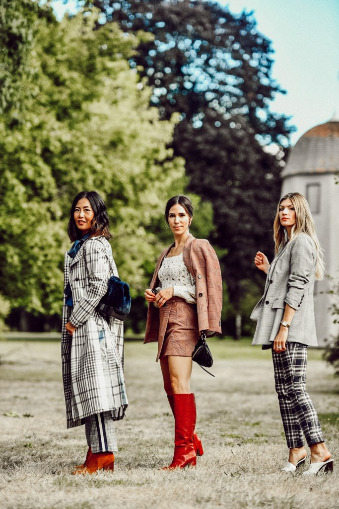 Fashion Bloggers Wearing Plaid