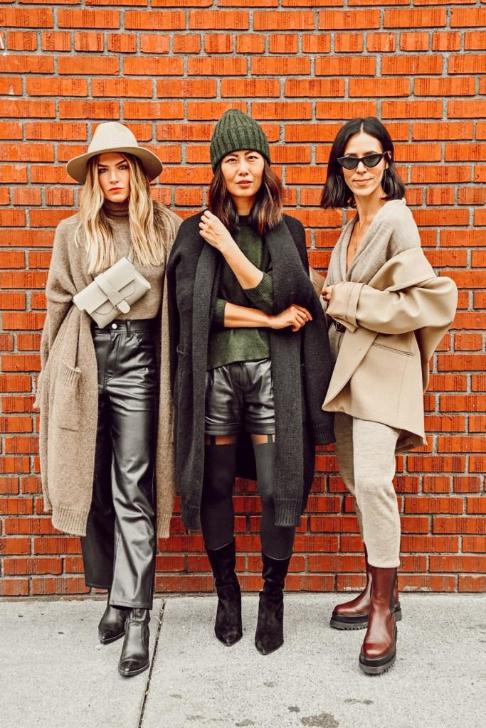 Seattle Stylelogue styling alpaca knitwear pieces for fall