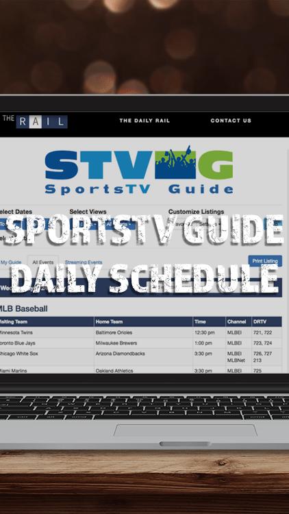 SportsTV Guide Daily Schedule App