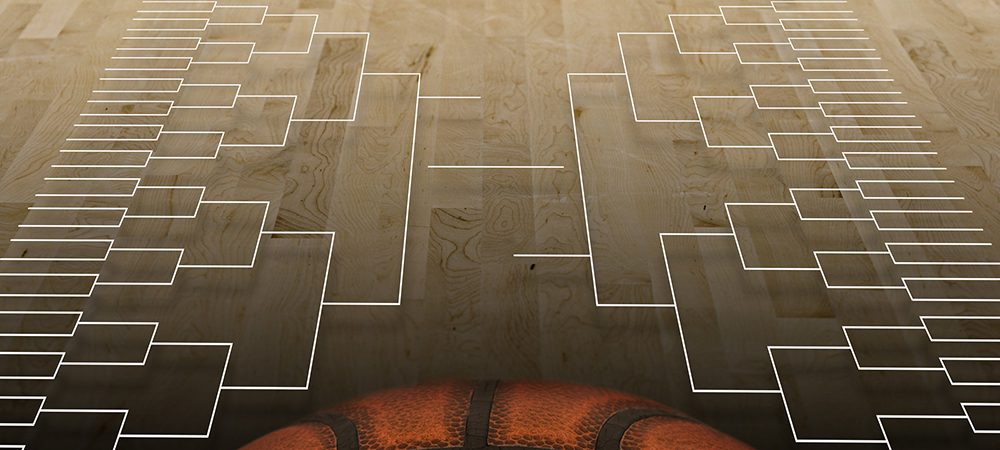 March Madness basketball bracket
