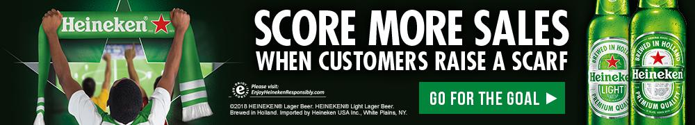 Heineken World Cup Scarf promo