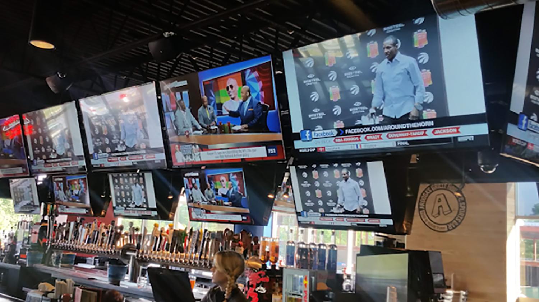 Sports Bar A/V TV Audit