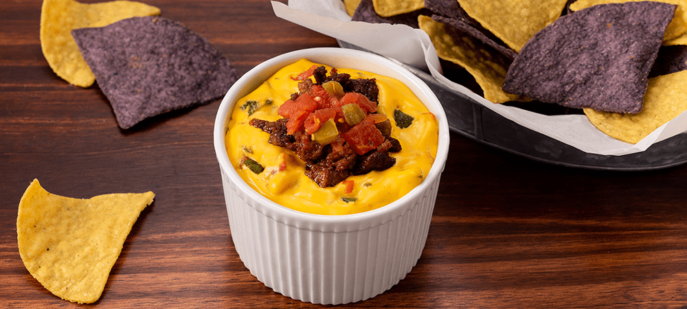 FlavorGoals Fire Roasted Pepper & Chorizo Queso STVG
