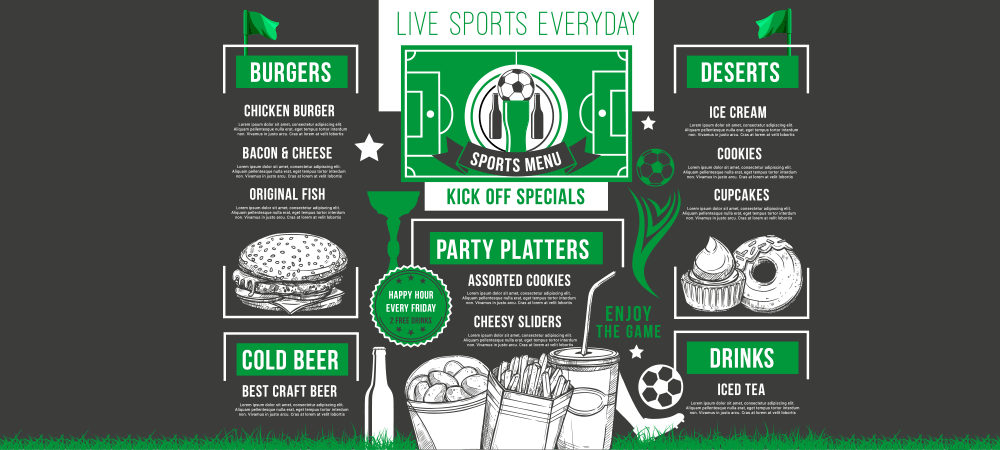 testing your gameday menu