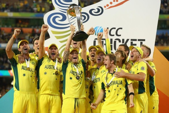 Australia Becomes Champions For The Fifth Time In World Cup 2015