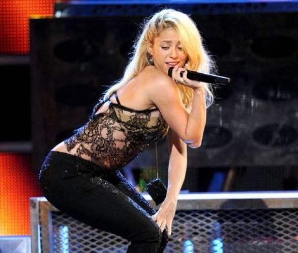 Shakira (Gerard Pique's Girlfriend)