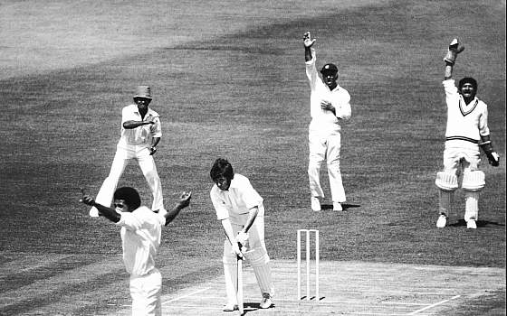 World Cup 1975 Pakistan vs West Indies Group Stage Match
