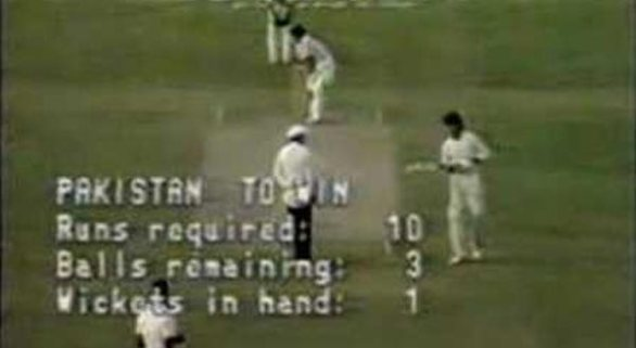 World Cup 1987 Pakistan vs West Indies Group Stage Match