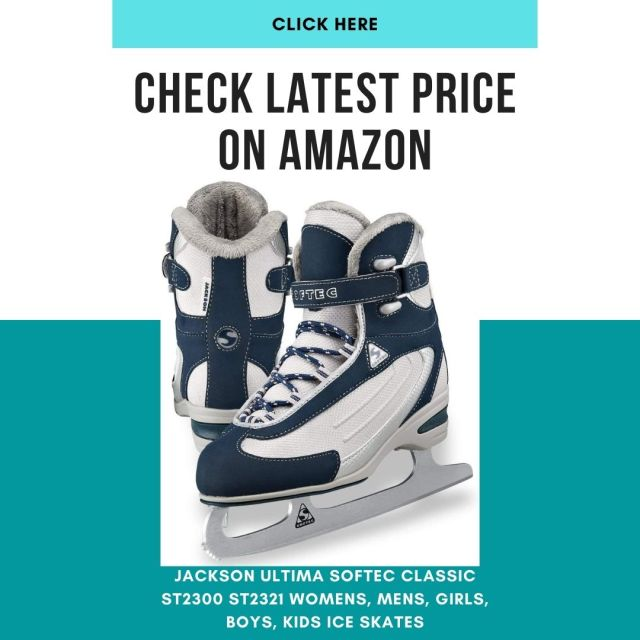 Jackson Ultima Softec Classic ST2300-Boy's, Girl's, Kids Ice skates and ST2321
