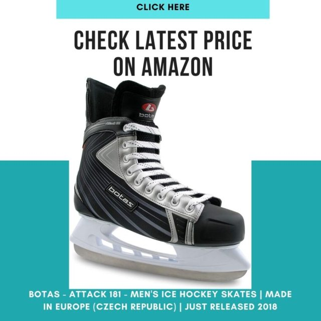 Best Ice Hockey Skates Review -Botas - Attack 181