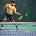 Different types of tennis shots