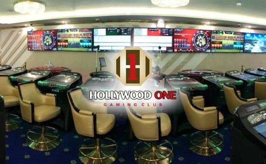 installation of Interblock Casino Games in Hollywood One Club Complete