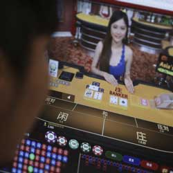 China to Crack Down on Offshore Gambling