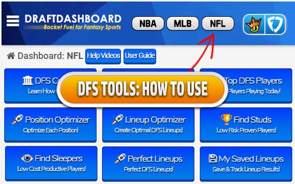 NFL lineup optimizer