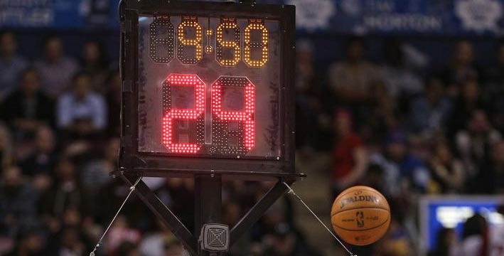 Basketball Shot Clock. Source: Next Impulse Sports.